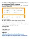 Evaluating log using the change of base formula to use w/