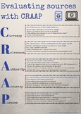 Evaluating sources with CRAAP - digital literacy