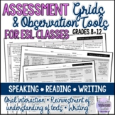 Evaluation/Assessment Grids- Speaking, Reading, Writing/ES