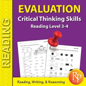 Evaluation: Critical Thinking Skills