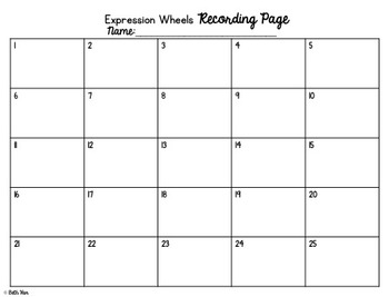 Evaluating Expressions with Expression Wheels