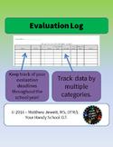 Evaluation Log Sheet