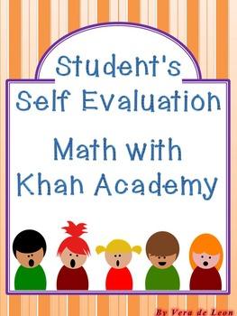 Evaluation- Math with Khan Academy progress- Student's Rubric