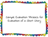 Evaluation Phrases