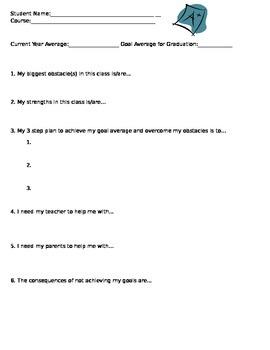 Evaluation Plan for Struggling Students