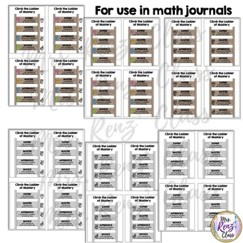 Evaluation Rating Scales for Word Walls and Student Journals (4 Point Scale)