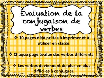 Évaluation de la conjugaison des verbes - Histoires
