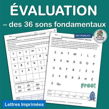 French ~ Evaluation – des 36 sons fondamentaux
