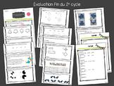 Évaluation en mathématique - Fin du 2e cycle