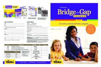 Bridge the Gap Phonics Sampler
