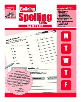 Building Spelling Skills Sample Lessons