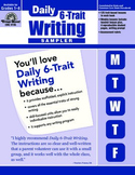 Daily 6-Trait Writing Sample Lessons
