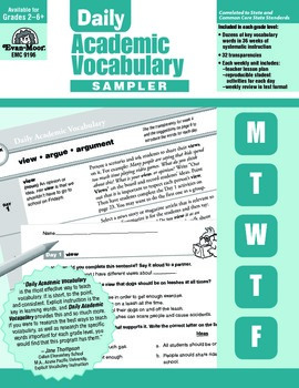 Daily Academic Vocabulary Lessons