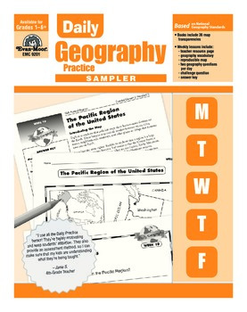Daily geography teaching resources teachers pay teachers daily geography practice sample lessons daily geography practice sample lessons fandeluxe Images