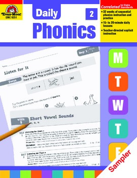 Daily Phonics Sample Lessons