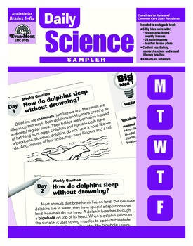 Daily Science Sample Lessons