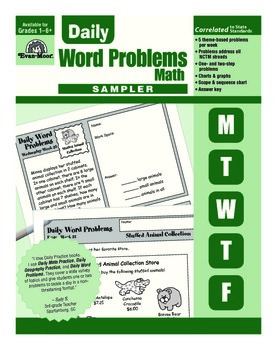 Daily Word Problems Sample Lessons