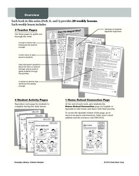 Everyday Literacy: Science Sample Lessons
