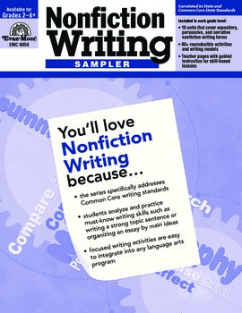 Nonfiction Writing Sample Lessons