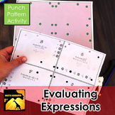 Evaluating Expressions - Punch Pattern Activity