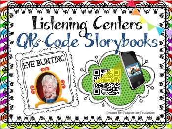 Eve Bunting Listening Center (25 QR Code Storybooks)