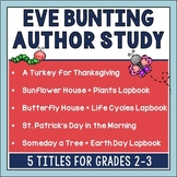 Eve Bunting Author Study for Spring