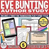 Eve Bunting Author Study Bundle