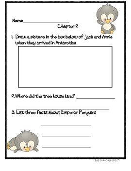 Eve of the Emperor Penguin Book Activities
