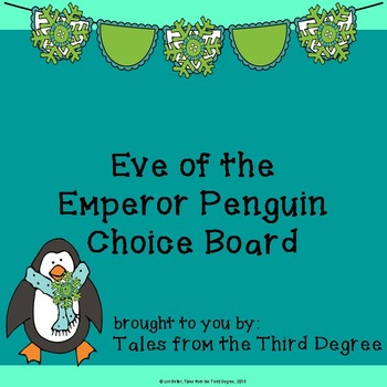 Magic Tree House Eve of the Emperor Penguin Reading and Wr