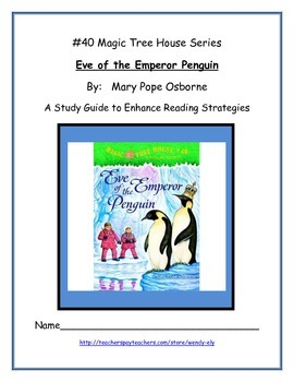 Eve of the Emperor Penguin-- Literature Study Guide