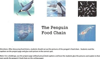 """""""Eve of the Emperor Penguin"""" Novel Study and Extensions"""
