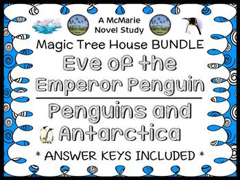 Eve of the Emperor Penguin   Penguins and Antarctica : Magic Tree House BUNDLE