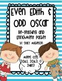 Even Edith & Odd Oscar - Re-Teaching & Enrichment Packet