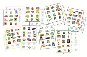 FOOD Clip Art - set #3 - 200 new images!