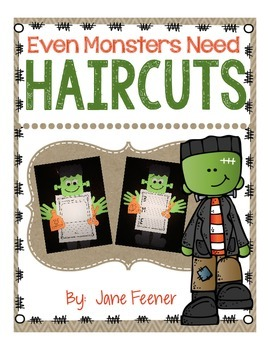 Even Monsters Need Haircuts Writing Activity