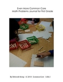 First Grade Math Word Problems Journal Part 3-Common Core Aligned