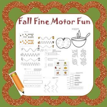 Even More Fall Fine Motor Fun