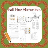 Fall Handwriting and Fine Motor Fun Pack