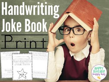 Handwriting Joke Book