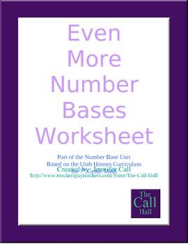 Day 5 - Even More Number Bases Worksheet