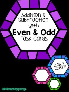 Even & Odd Activity with Addition and Subtraction