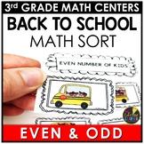 Even Odd August Math Center