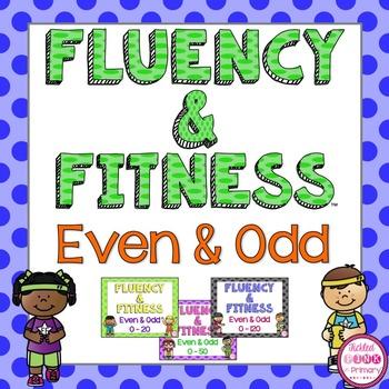 Even & Odd Fluency & Fitness Brain Breaks Bundle