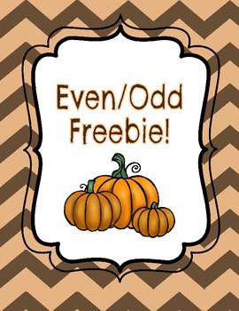Even Odd Freebie