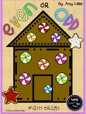 Even & Odd Gingerbread Houses