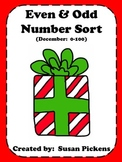 Even Odd Number Sort 0-100 December