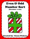 Even Odd Number Sort 0-100 December