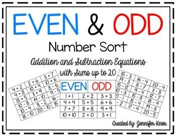 Even & Odd Number Sort