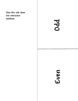 Even & Odd Numbers for 2nd Grade
