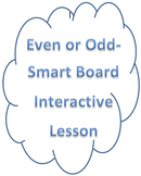 Even-Odd Smart Notebook Activity